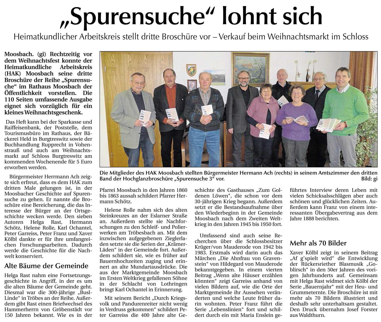 Spurensuche 3/2012