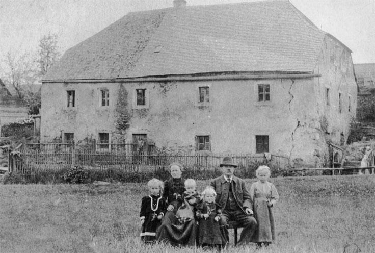 Wirtsschleife um 1915